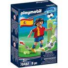 Playmobil: Spanyol válogatott focista 70482