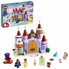 LEGO Disney: Sărbătoare de iarnă la Castelul Bellei 43180