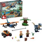 LEGO Jurassic World: Velociraptor: misiunea de salvare cu biplanul 75942