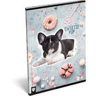 KIS BAGOLY: Sweetie dog A4 sima füzet