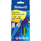 Pelikan: Hatszögletű színes ceruza 12 darabos