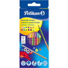 Pelikan: Bicolor színes ceruza 12 darabos