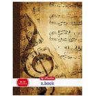 x.book: Design caiet muzică 86-32 - A4, diferite