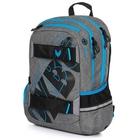 OXY: Sport GREY LINE blue hátizsák