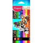 MAPED Color Peps Animal set creioane colorate triunghiulare - 12 buc.