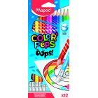 MAPED: Color Peps Oops! radírozható, színes ceruza készlet