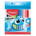 MAPED: Color Peps Ocean kimosható filctollkészlet, 2mm - 12 db