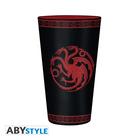 Game of Thrones: Targaryen Pahar de sticlă - 400 ml