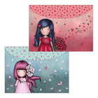 Sparkle & Bloom: Cherry Blossom / Love Grows A4 Dokumentum Tartó - 2 db