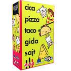 Pisică, pizza, taco, copil, brânză - joc de cărți în lb. maghiară