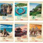Around the world Caiet cu linii A4 - diferite