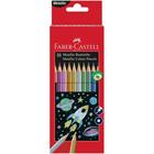 Faber-Castell: színes ceruza készlet, 10 db-os, fémes színek