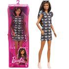 Barbie Fashionistas: Barbie egér mintás ruhában
