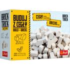 Brick Trick: utántöltő - 70 db fehér kastélytégla