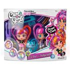 CurliGirls: Set de joacă Păpuși prietene și animăluț de companie
