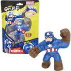 Goo Jit Zu: Marvel Hősök - Amerika Kapitány nyújtható akciófigura