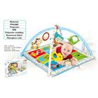 Covoraș de joacă pentru bebeluși - model ABC