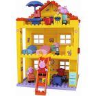 BIG: Bloxx Set de joacă Casa uriașă a lui Peppa Pig - 107 piese