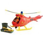 Pompierul Sam: Set de joacă Elicopterul Wallaby cu figurină Tom