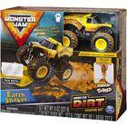 Monster Jam: Earth Shaker - set starter cu nisip kinetic