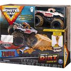 Monster Jam: Zombie - set starter cu nisip kinetic