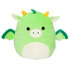 Squishmallows: Dexter, dragonul verde - jucărie de pluș 20 cm