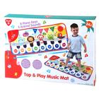 Playgo: Covoraș muzical cu model animale