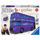 Harry Potter 3D Autobuzul mov - puzzle cu 216 piese