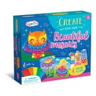 Creează singur: Set creativ cu cristale - Basm, bufniță