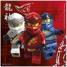 Lego Ninjago szalvéta 33 x 33 - 16 db