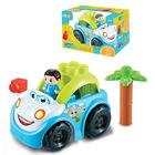 Luna Blocks: Mașinuță albastră