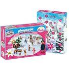Playmobil: Adventi naptár - Heidi téli világa 70260