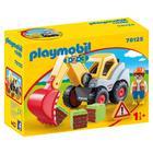 Playmobil: 1.2.3: Lapátos kotrógép 70125