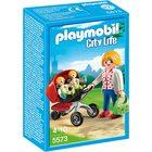 Playmobil: Anya ikerbabakocsival 5573