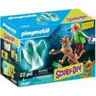 Playmobil: SCOOBY-DOO! - Scooby & Shaggy cu fantomă 70287