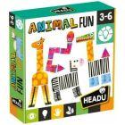 Puzzle logică: joc de potrivire - Animăluțe amuzante