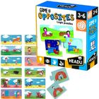 Puzzle logică: joc de potrivire - Opusurile