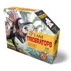 WOW: Formapuzzle junior - 100 db, Triceratopsz