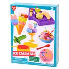 Set de plastilină - Creează înghețată