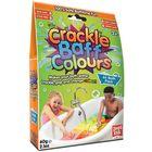 Crackle Baff Colours: Pattogó, színes fürdőpor - 60g