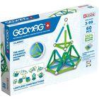 Geomag: Classic Green Line - joc de construcție magnetică - 60 de piese