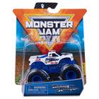 Monster Jam: Mașinuță Razin Kane cu brățară silicon