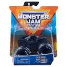 Monster Jam: Mașinuță Soldier Fortune cu brățară silicon