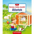 Mini Caută, Găsește, Povestește! Animale - carte în lb. maghiară