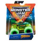 Monster Jam: Mașinuță Dragon cu brățară silicon