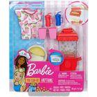 Barbie: Set de accesorii pentru popcorn cu plastilină
