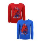 Spider-Man: tricou cu mânecă lungă - 98 cm, în două culori