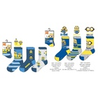 Minyonok: 3 páras zokni 27-30 , több mintában