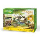 CubicFun: Dinopark 43 darabos 3D puzzle