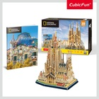 Cubicfun: City Traveller Barcelona 184 darabos 3D puzzle